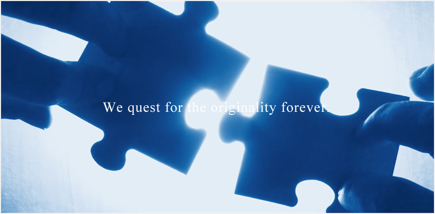 We quest for the originality forever.